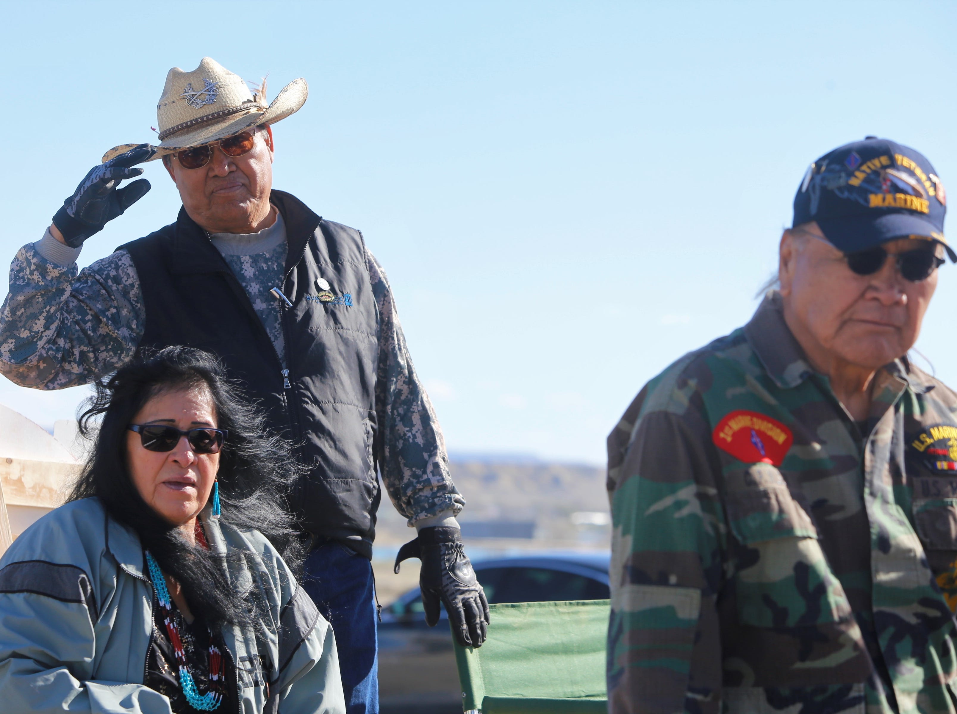 Residents from chapters in the northern and eastern agencies participated in the Vietnam Veterans Day parade in Shiprock on Friday.