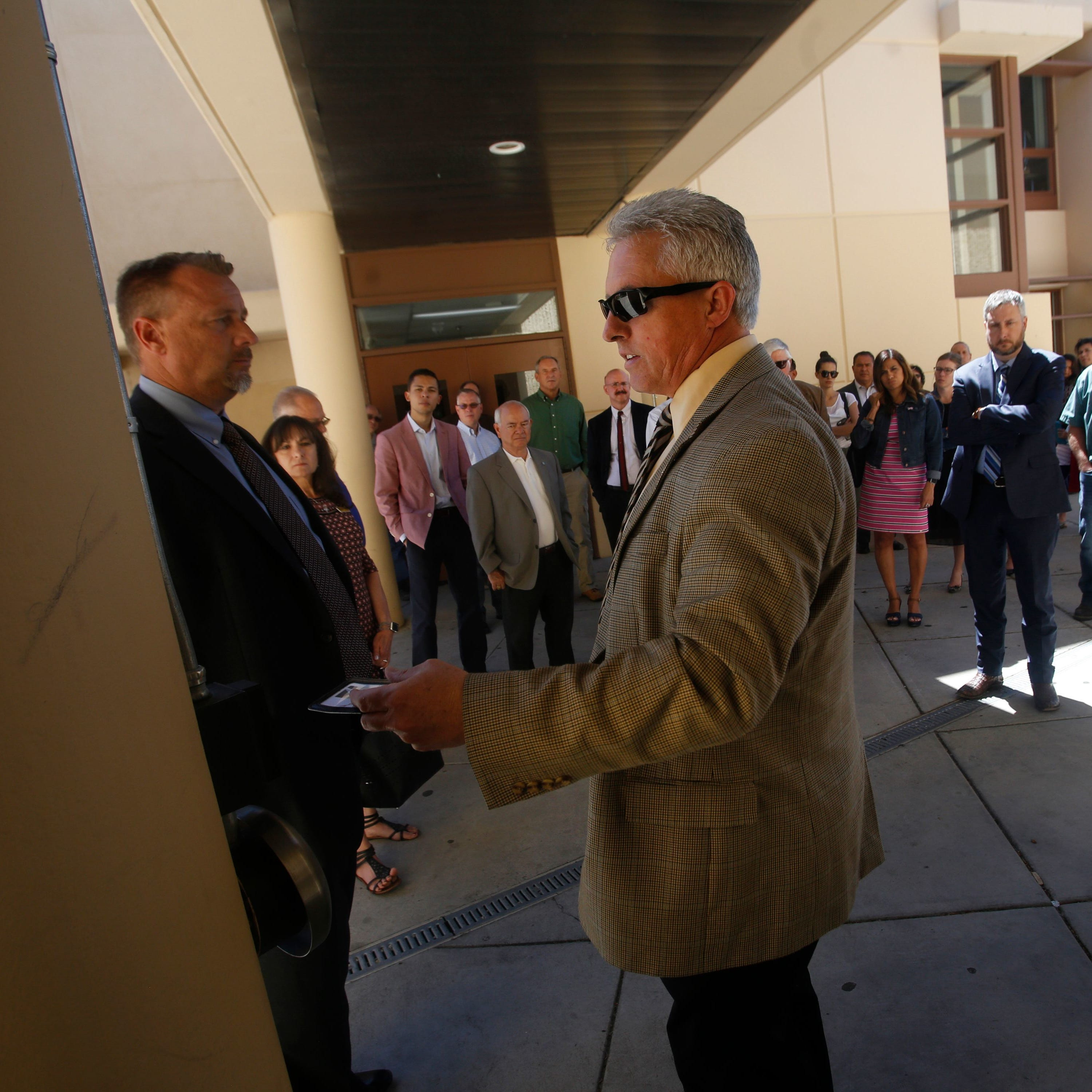Case dismissed against Aztec Superintendent Kirk Carpenter