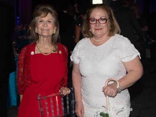 Gloria Greer's twin daughters who started it all, Norma Greer Fishkind, left, and Ann Greer.