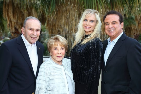From left, Alan and Helen Greene and Jessica and Jim Greene