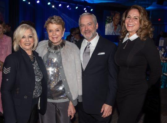 From left, Helene Galen, Donna MacMillan, Bill Nicholson and Palm Desert City Councilmember Jan Harnik
