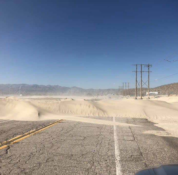 Indian Canyon Drive reopens 28 hours after gusty winds hit Coachella Valley
