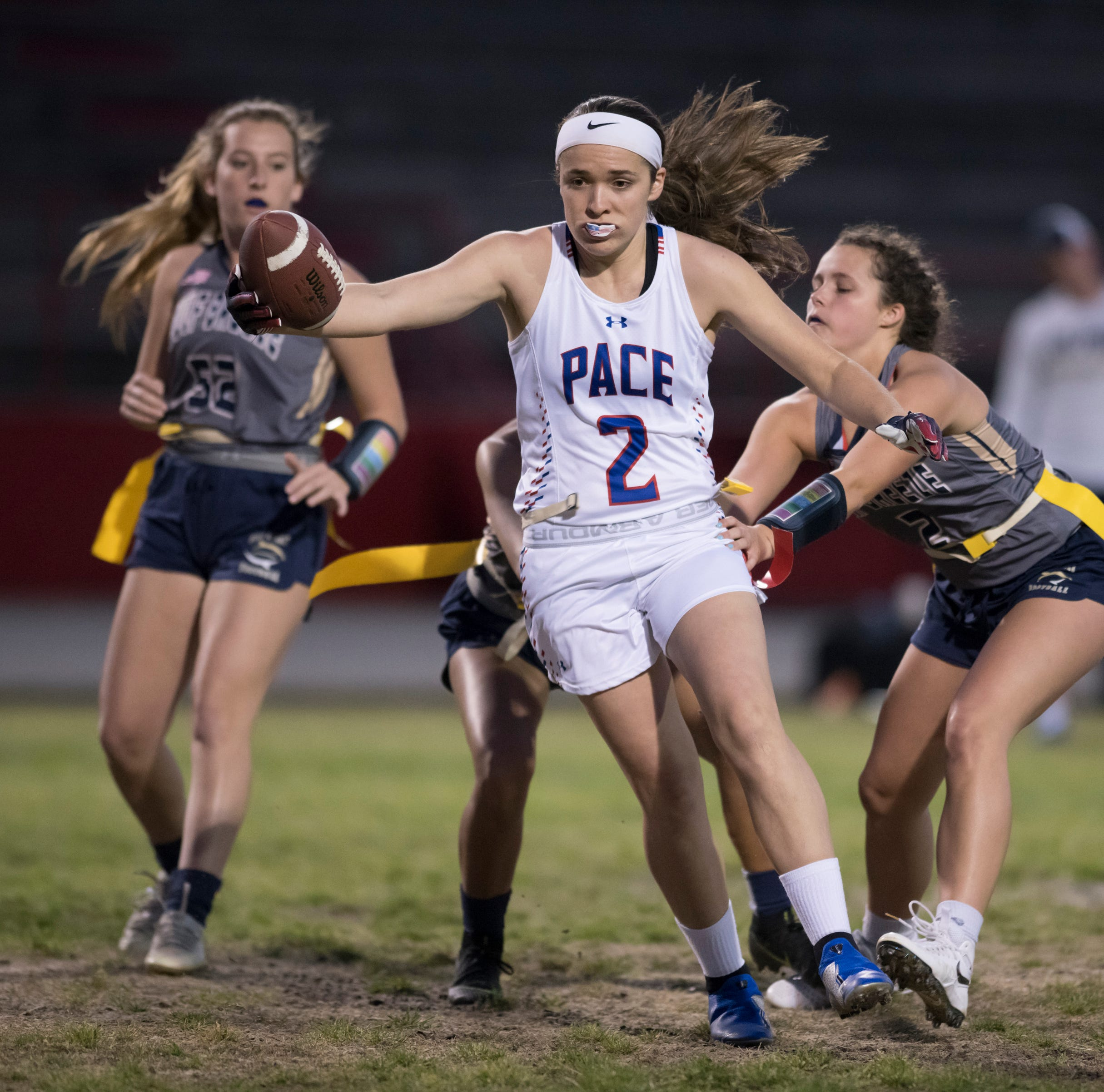 Pensacola-area flag football Year 2: Tradition on the rise with Pine Forest, Pace shining