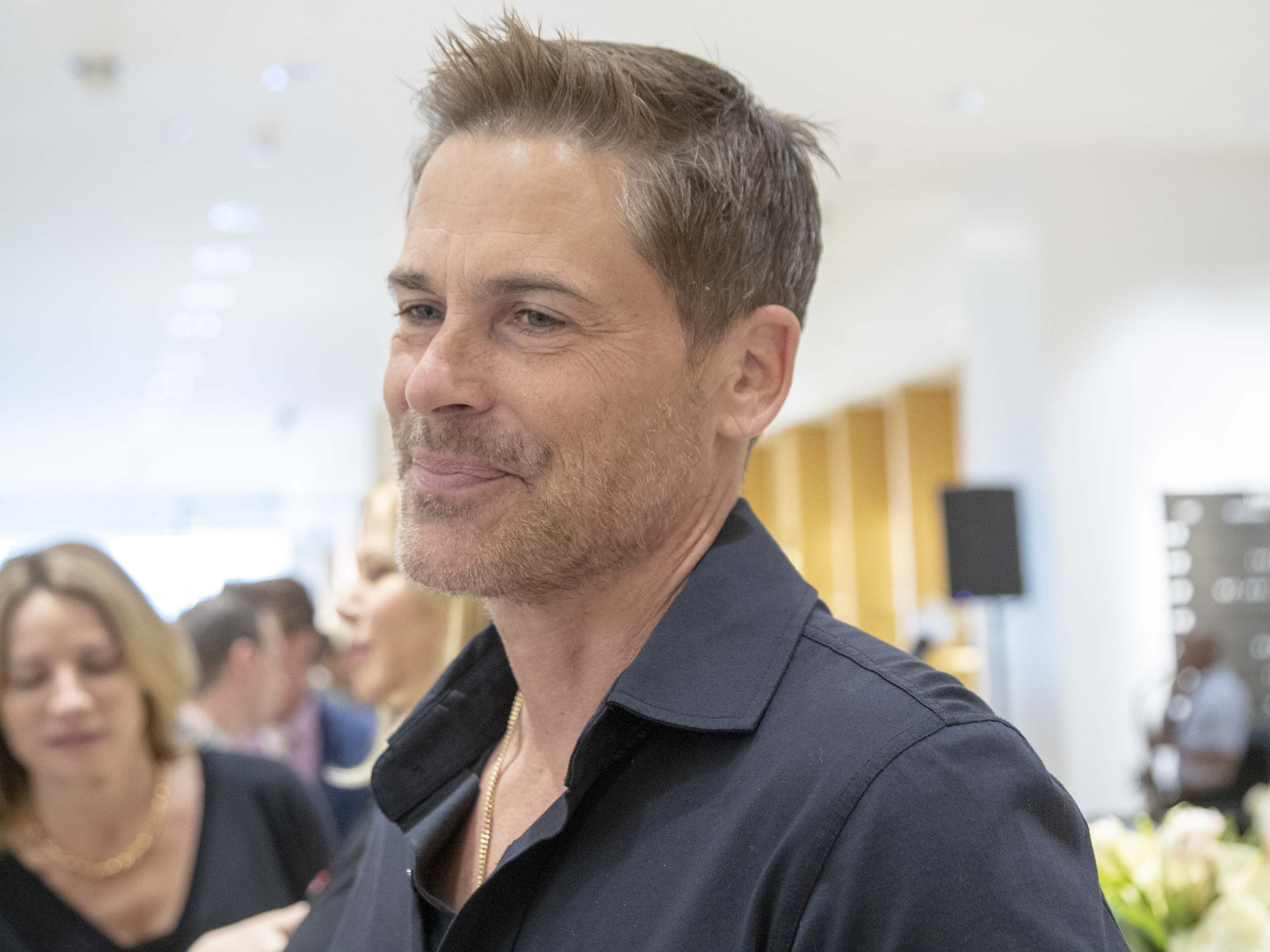 Actor Rob Lowe and his wife Sheryl Lowe launch their first men's jewelry collection at Scottsdale Fashion Square on March 28, 2019. It's called Mr. Lowe and is inspired by Rob and the couple'stwo sons,Matthew and John Owen.