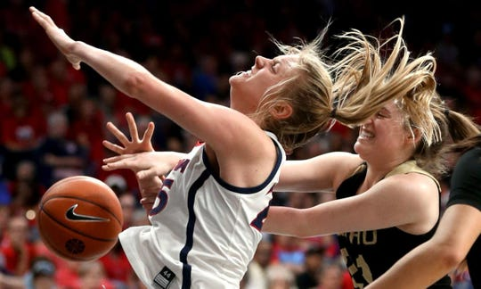 Cate Reese and the Arizona Wildcats have made the Elite 8 of the WNIT.