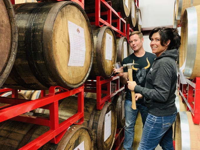 Jeff and Jen Herbert own and operate Superstition Meadery in Prescott.