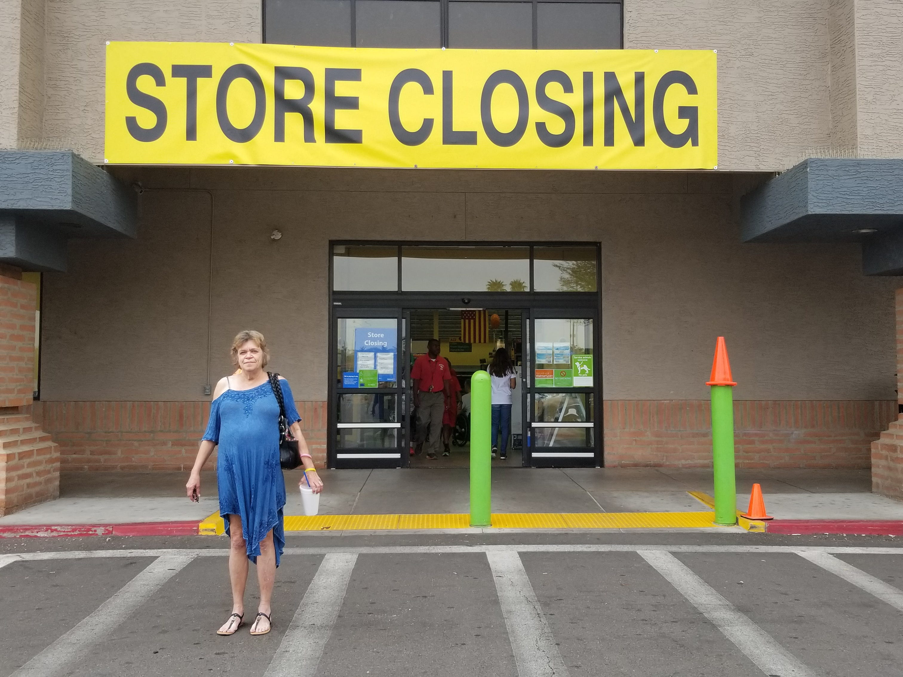 Chandler resident and shopper Judy Cooper is trying to save the Walmart Neighborhood Market from closing.