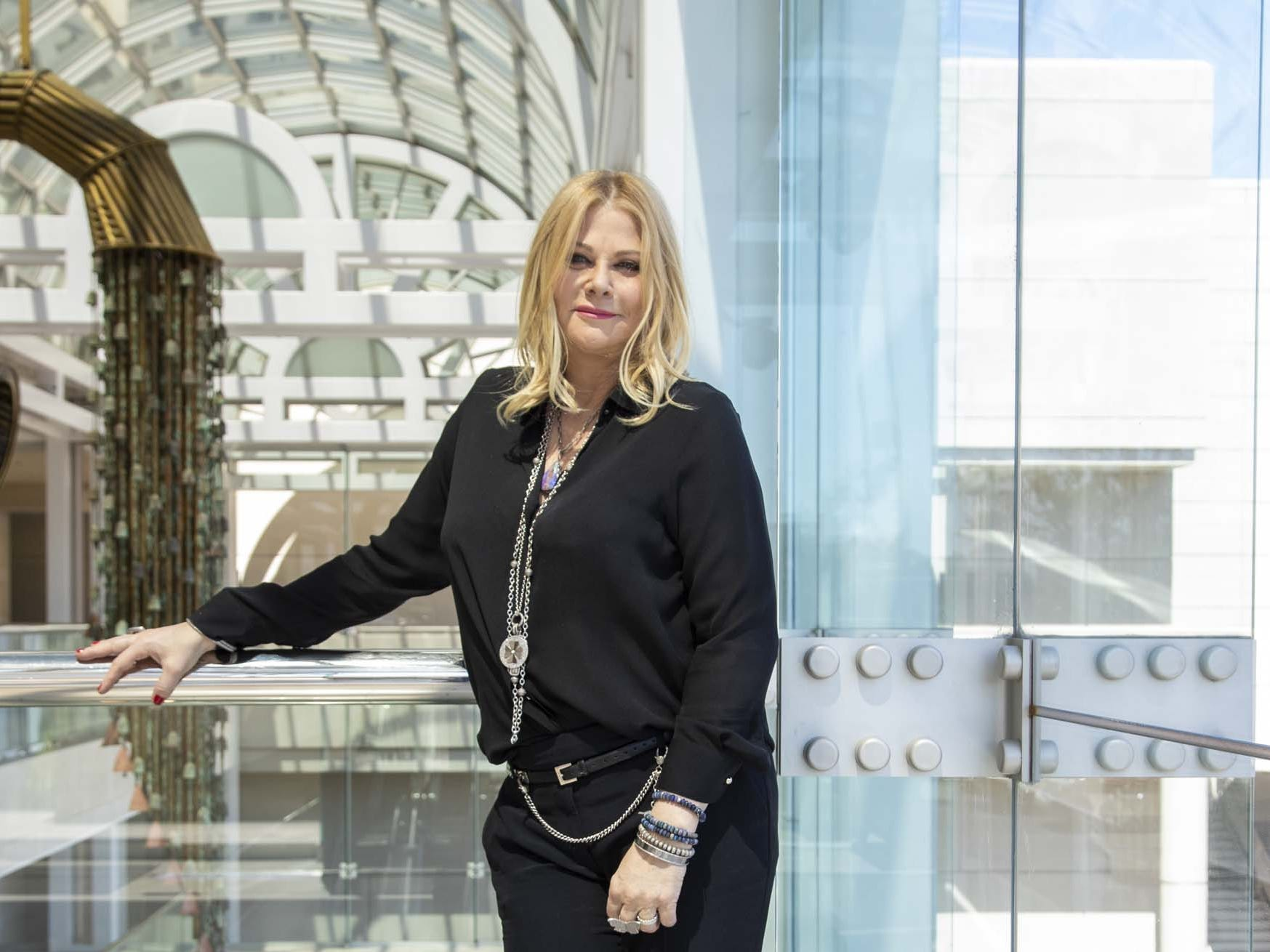 Sheryl Lowe, jewelry designer and wife to actor Rob Lowe, introduces their new men's jewelry collection at Scottsdale Fashion Square exclusively to Neiman Marcus on March 28, 2019.