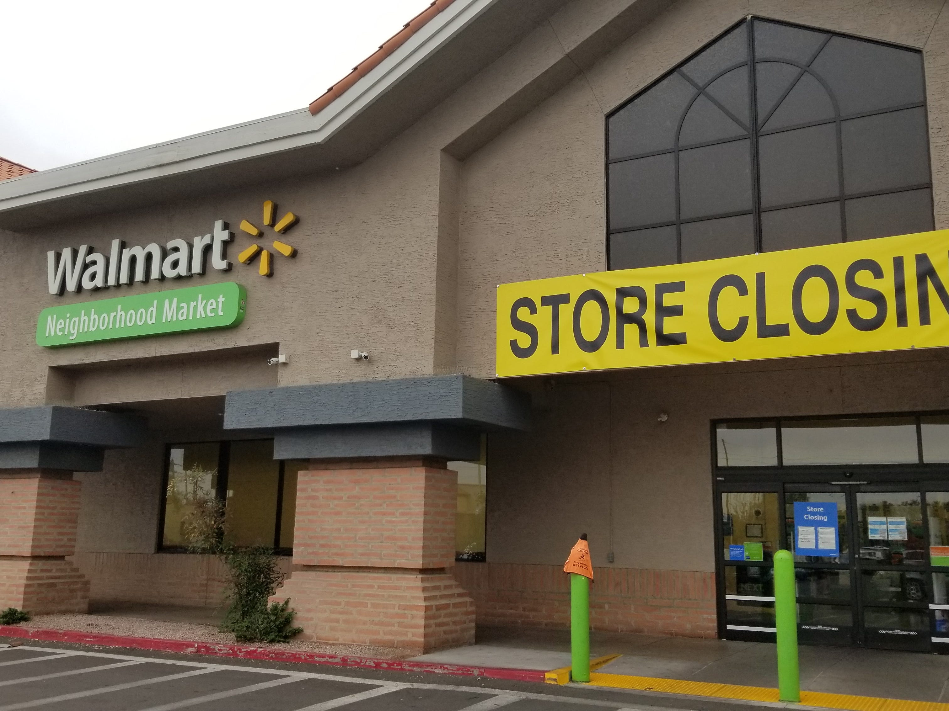 The Walmart Neighborhood Market concept was first launched in 1998, and the location at Chandler Boulevard and Kyrene Road opened in August 2013. It is closing April 19.