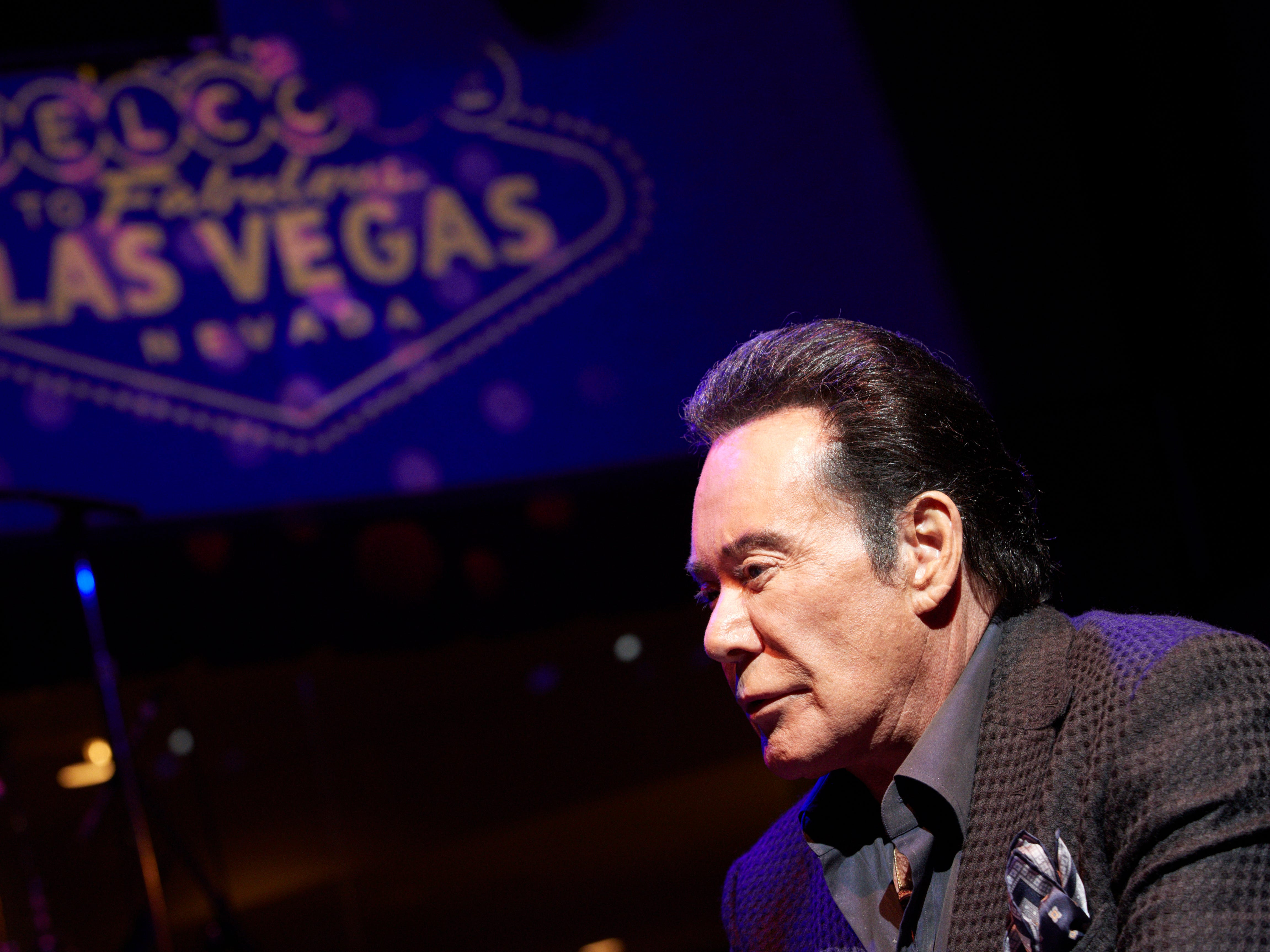 """Wayne Newton: Known as """"The King of Las Vegas,"""" Newton has returned in March and April of 2019 in Cleopatra's Barge in Caesar's Palace."""