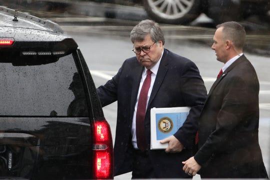 William Barr, procurador general de EEUU