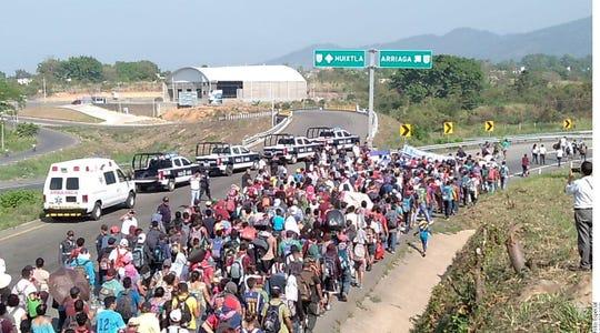Se menciona que la nueva caravana podría estar integrada hasta por más de 20 mil migrantes.