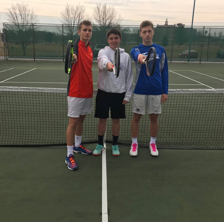Three of a kind: Muraika, Clary, Tull three of the best HS tennis players in Central Pa.