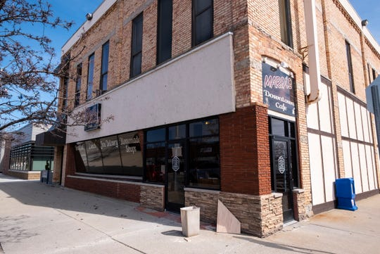 After being closed since February due to a pipe bursting in an apartment above them, Maria's Downtown Cafe hopes to reopen in the first week of April.