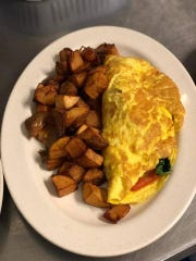 Maria's Downtown Cafe is expected to be back open in the first week of April after pipes in an apartment above. The cafe offers breakfast and lunch.