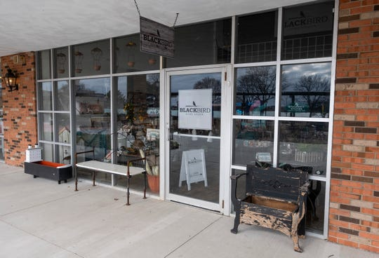 Blackbird Home Goods has been open for two weeks at its new spot in the courtyard at Riverview Plaza.