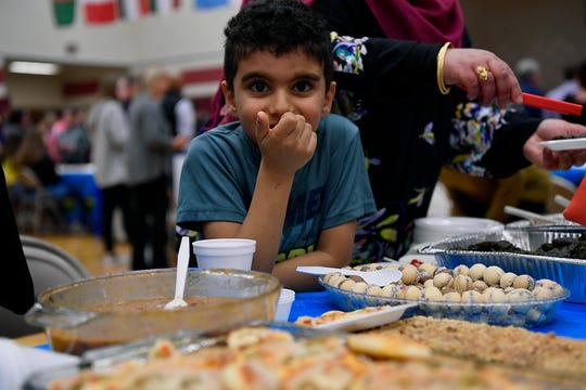 Hundreds attend a Mutlicultural Festival at York Suburban Middle School, Thursday, March 28, 2019.John A. Pavoncello photo