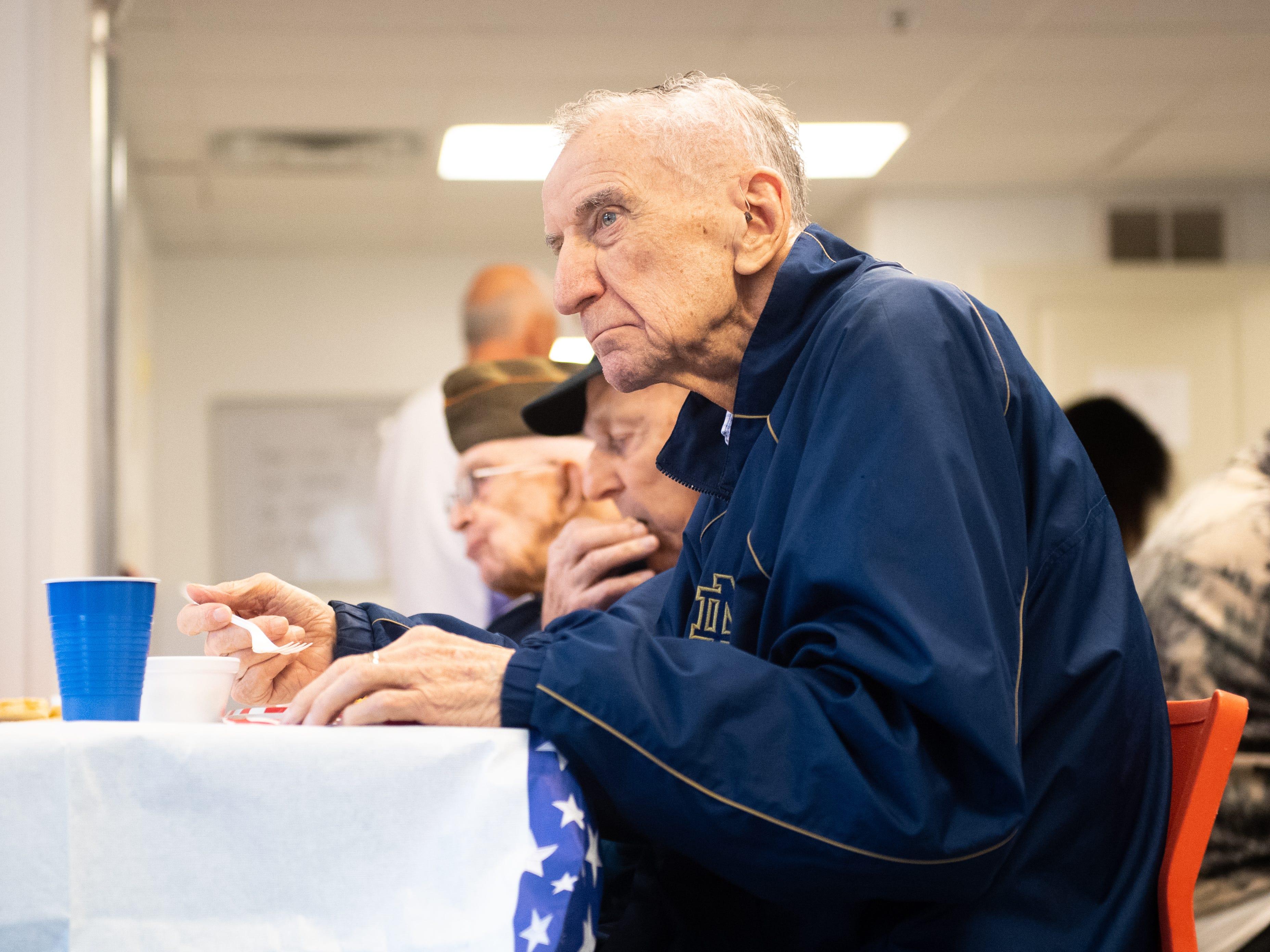 Bernard Smith is an Army veteran that fought in the Korean War.