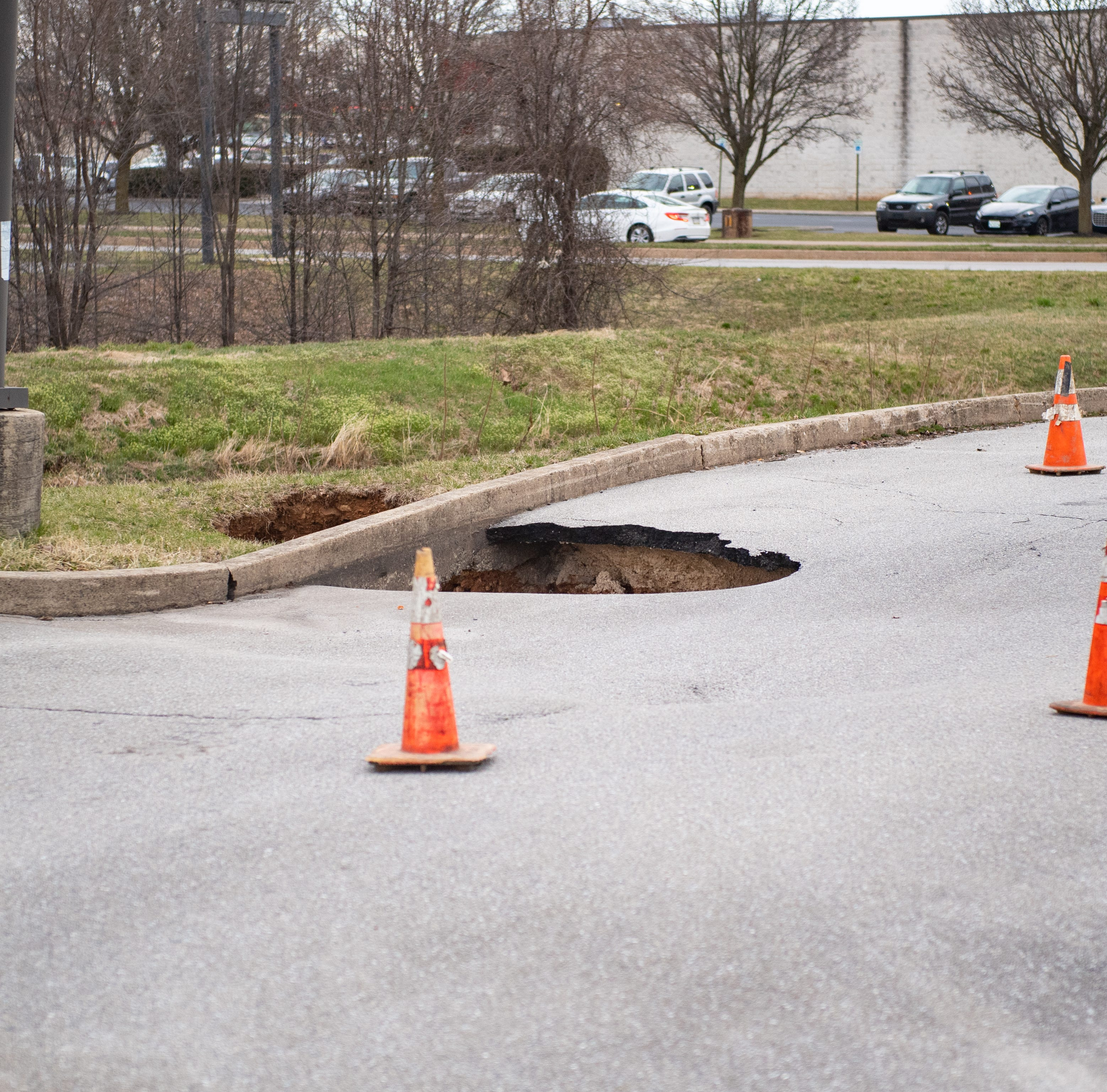 Here's why there are so many sinkholes around the West Manchester Town Center