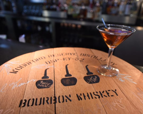 Meghann Allred's 'Manhattan Riff' is gaining national attention. The Left Bank bartender will compete in the semifinals of Woodford Reserve's Manhattan Experience competition on April 22  Woodford Reserve Distillery is in Kentucky.