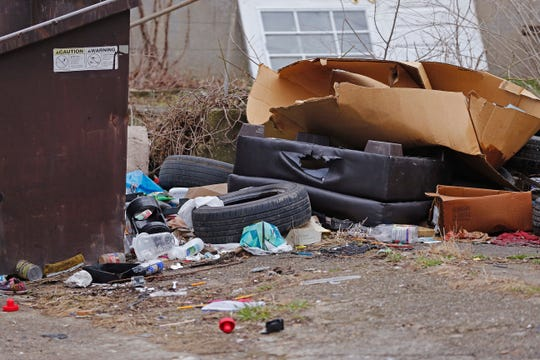 Items such as tires, mattresses, box springs and furniture will be collected by Richmond's Sanitation Department during the six weeks of the city's cleanup campaign.