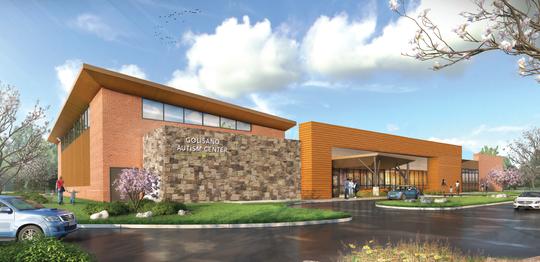 Rendering of Golisano Autism Center