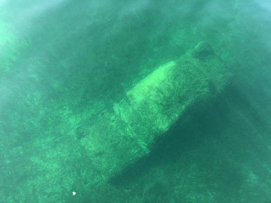 A car from the 1950s or 1960s was found at the bottom of Canandaigua Lake on March 29, 2019.