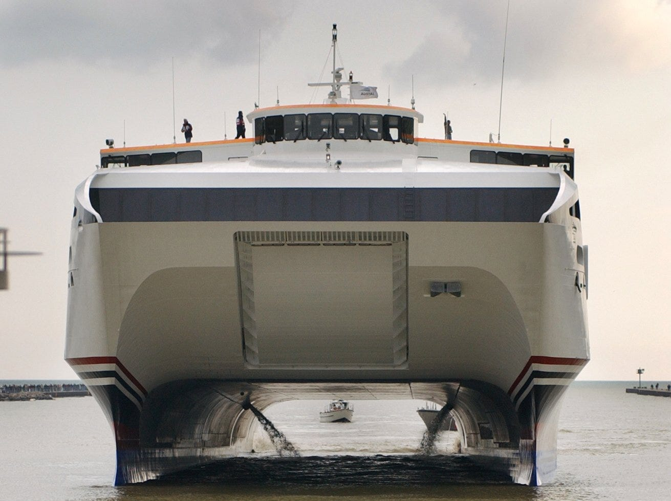 The full Monty: A timeline of our fast ferry's checkered past