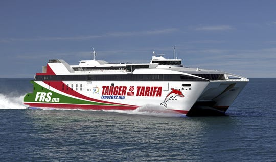 The Tanger Jet II ran between Spain and Morocco.