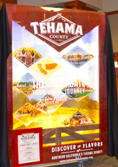 Tehama County's new display This is Tehama County's new Capitol display that will be unveiled on April 3, 2019.