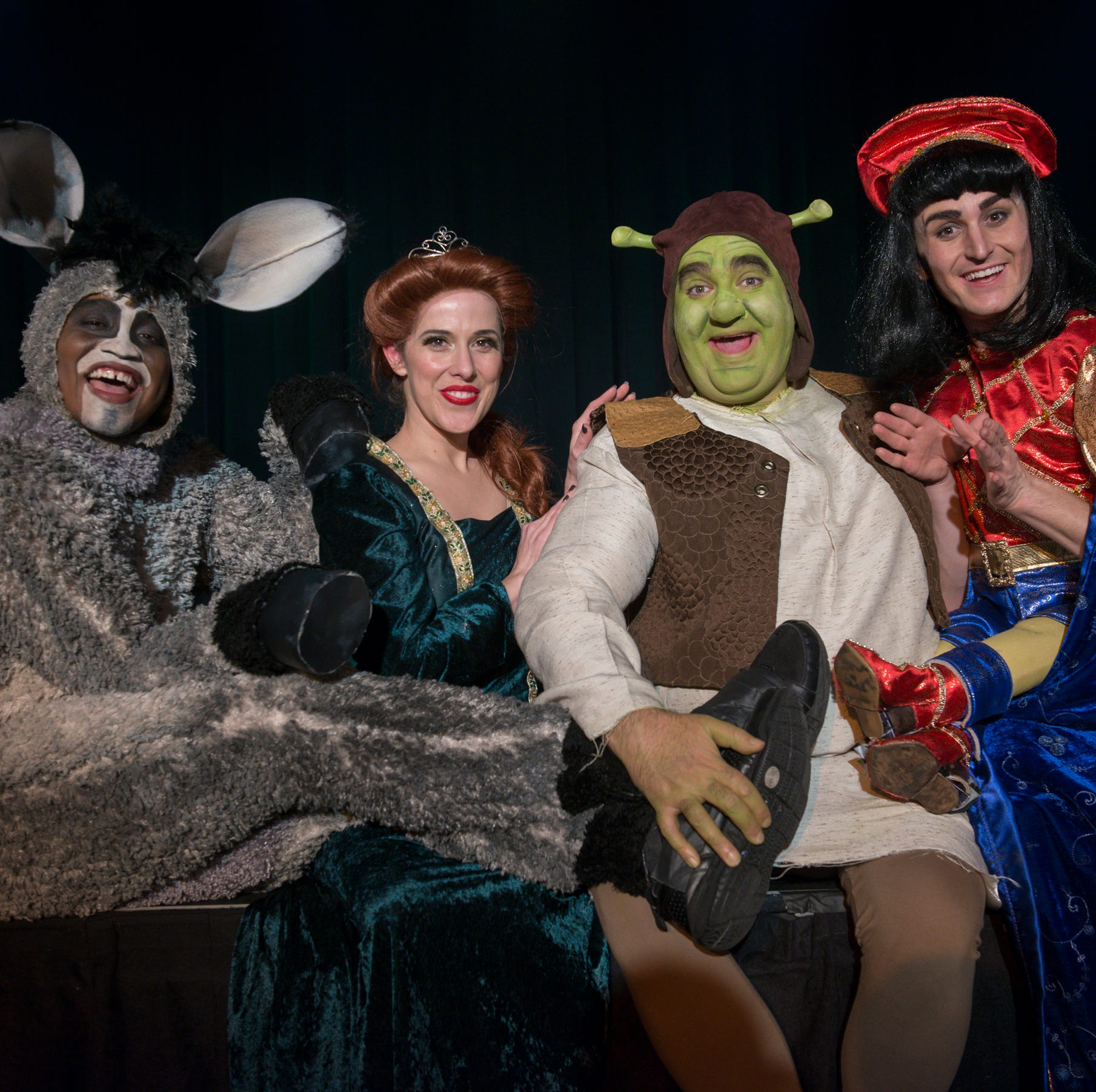 Cascade goes green in 'Shrek: The Musical'