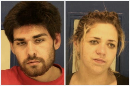 Benjamin Glenn Pierce-Flores, left, and Danielle Kay Ede