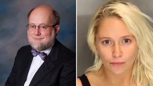 Dr. Thomas Burchard and Kelsey Turner