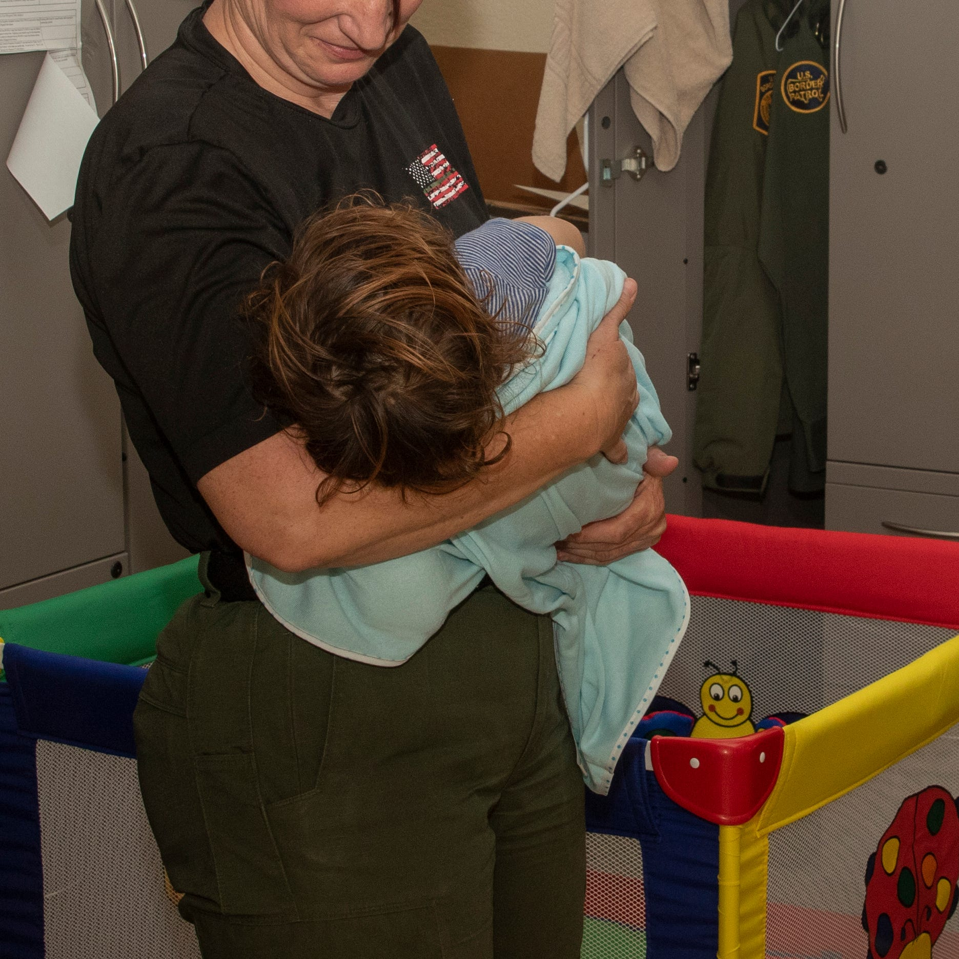 Border Patrol agents care for child after undocumented, pregnant mother hospitalized