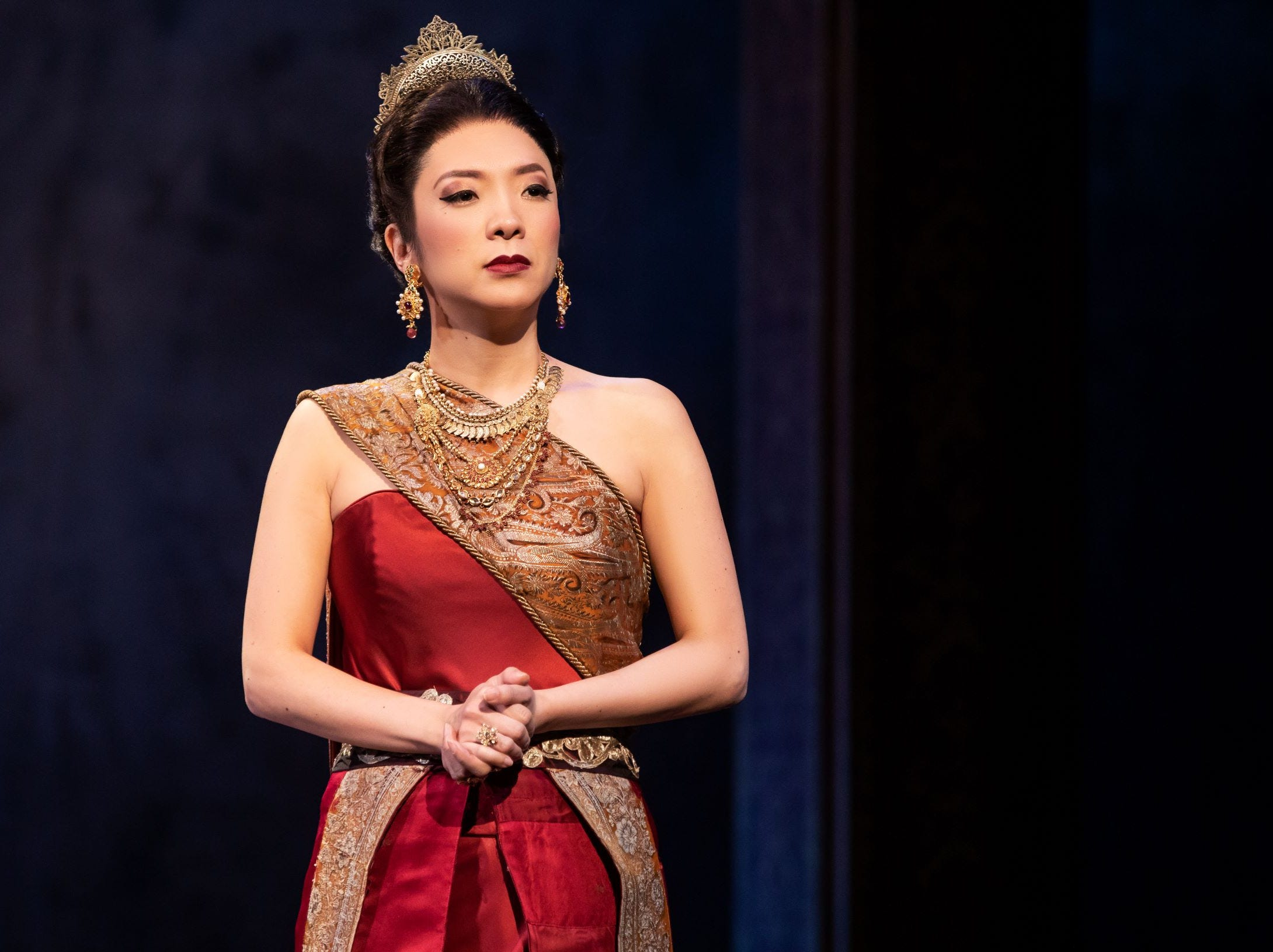 "DeAnna Choi as Lady Thiang in Rodgers & Hammerstein's ""The King and I."""