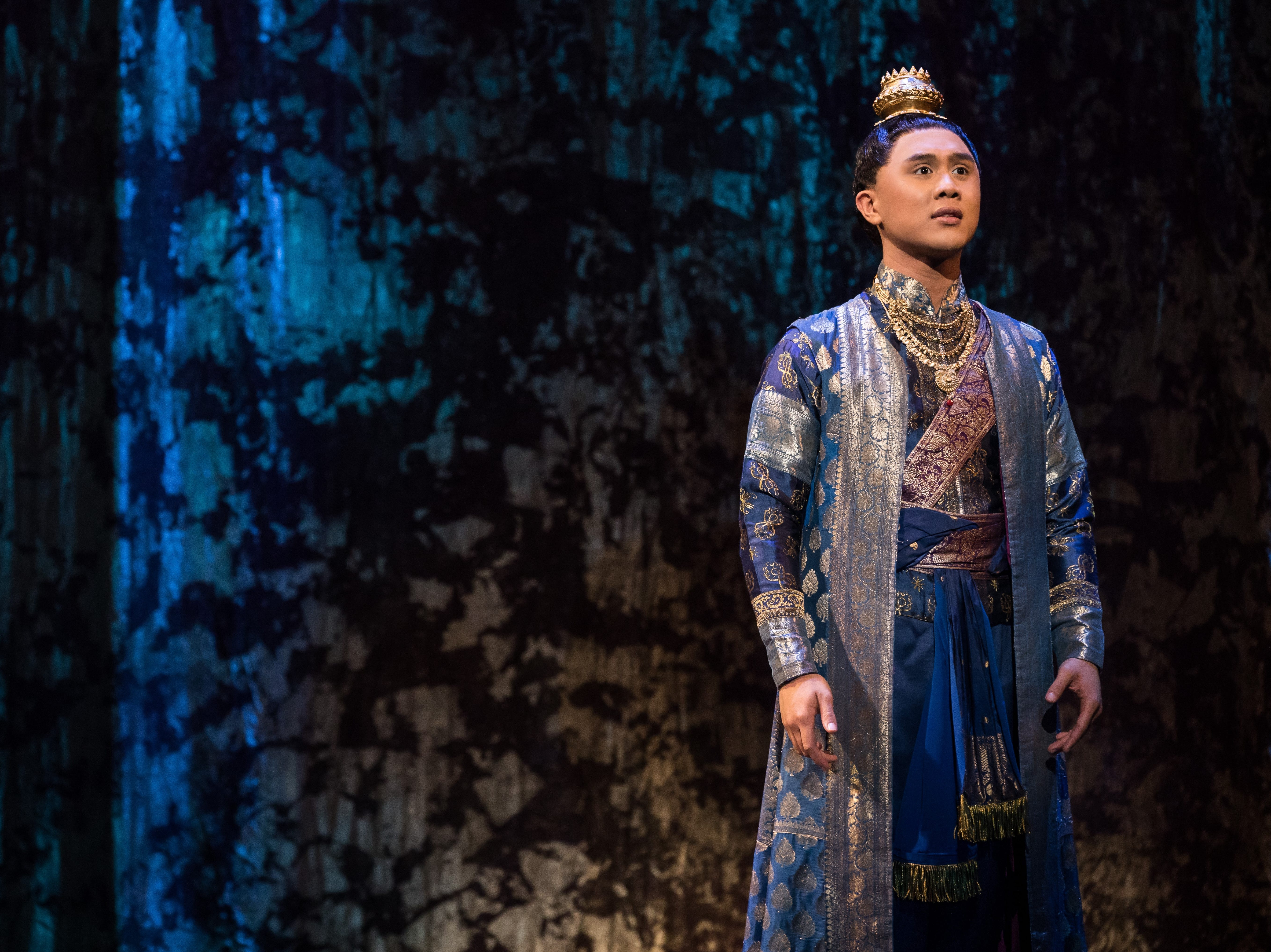 "Timothy Matthew Flores as Prince Chulalongkorn in Rodgers & Hammerstein's ""The King and I."""