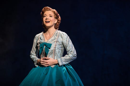 "Angela Baumgardner as Anna Leonowens in Rodgers & Hammerstein's ""The King and I."""