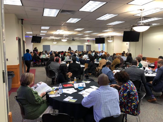 The Big Bend Minority Chamber of Commerce held its annual meeting Friday at Tallahassee Community College Workforce Development Center.