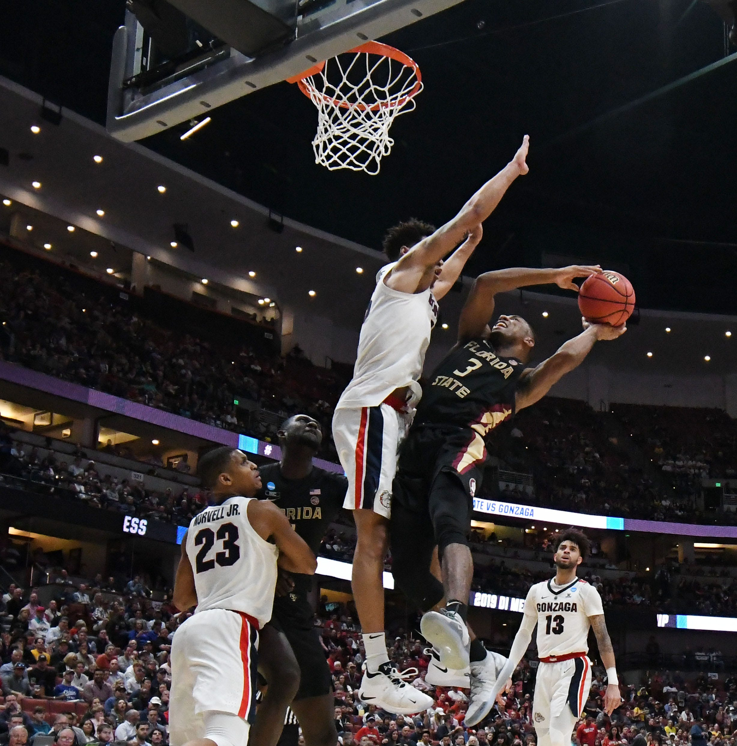 Florida State falls to No. 1 seed Gonzaga in Sweet 16