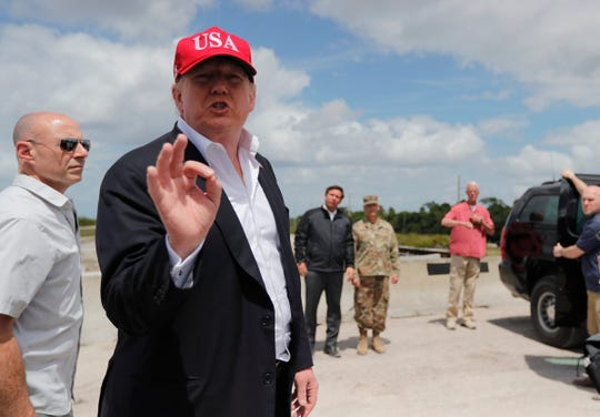 "As President Donald J.Trump visited Lake Okeechobee on March 29, 2019, a TCPalm reporter asked about funding for Everglades restoration: ""It's coming, Soon. And a lot more than you would ever believe,"" the president replied."