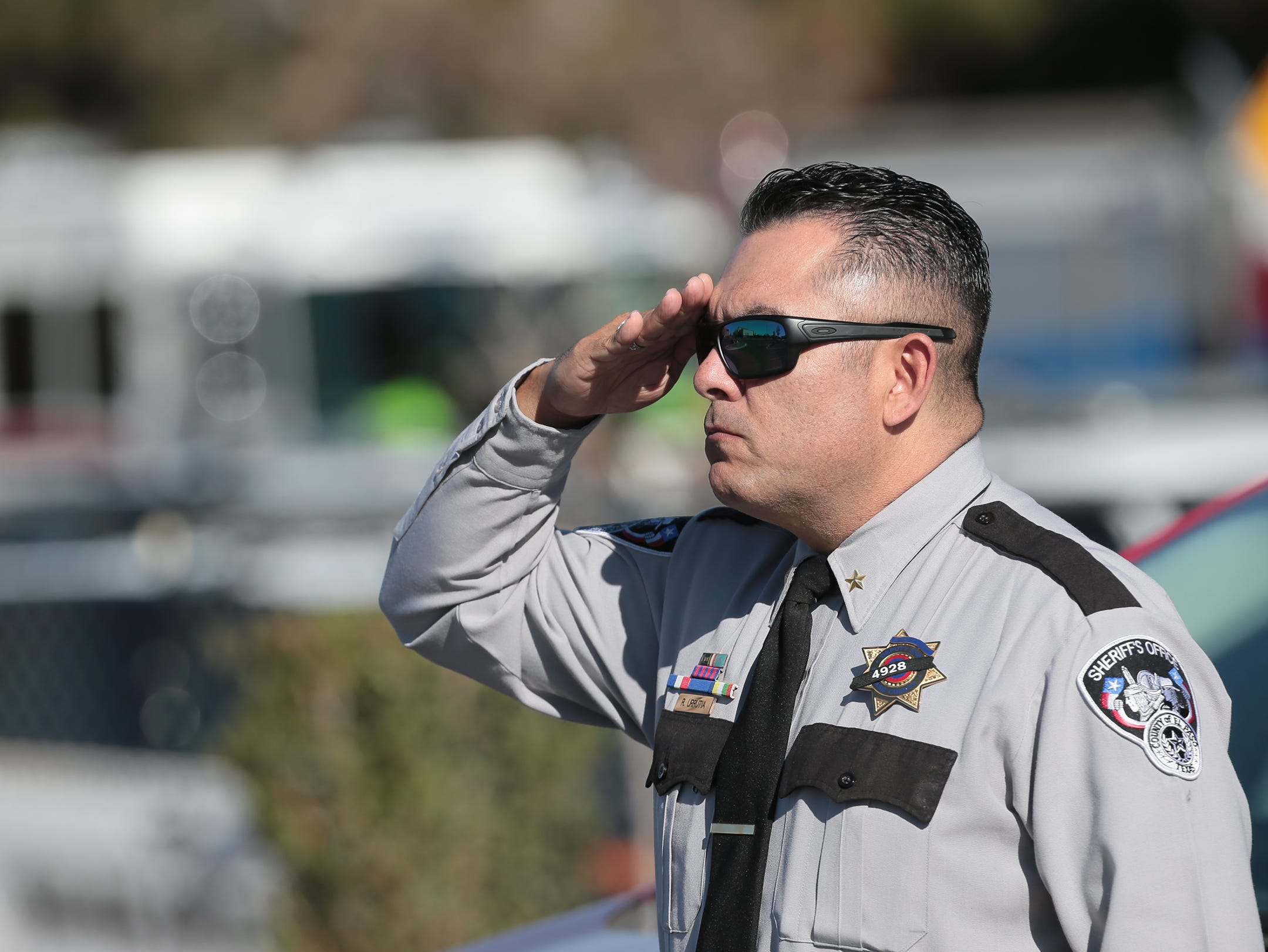 Funeral services were held Friday for El Paso County Sheriff's Office Deputy Peter Herrera who was shot and killed.