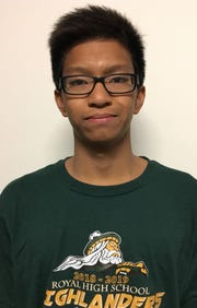 Royal High sophomore Julius Gonzales, who won two titles at the county swimming championships, is one of many talented young swimmers from the county.