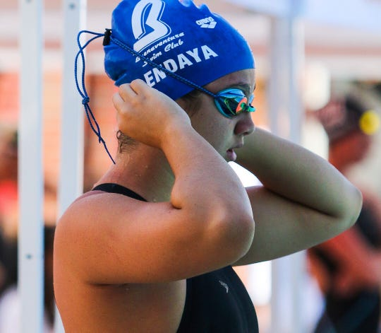 Grace Endaya has made an immediate impact in the pool in her first year at Ventura High.