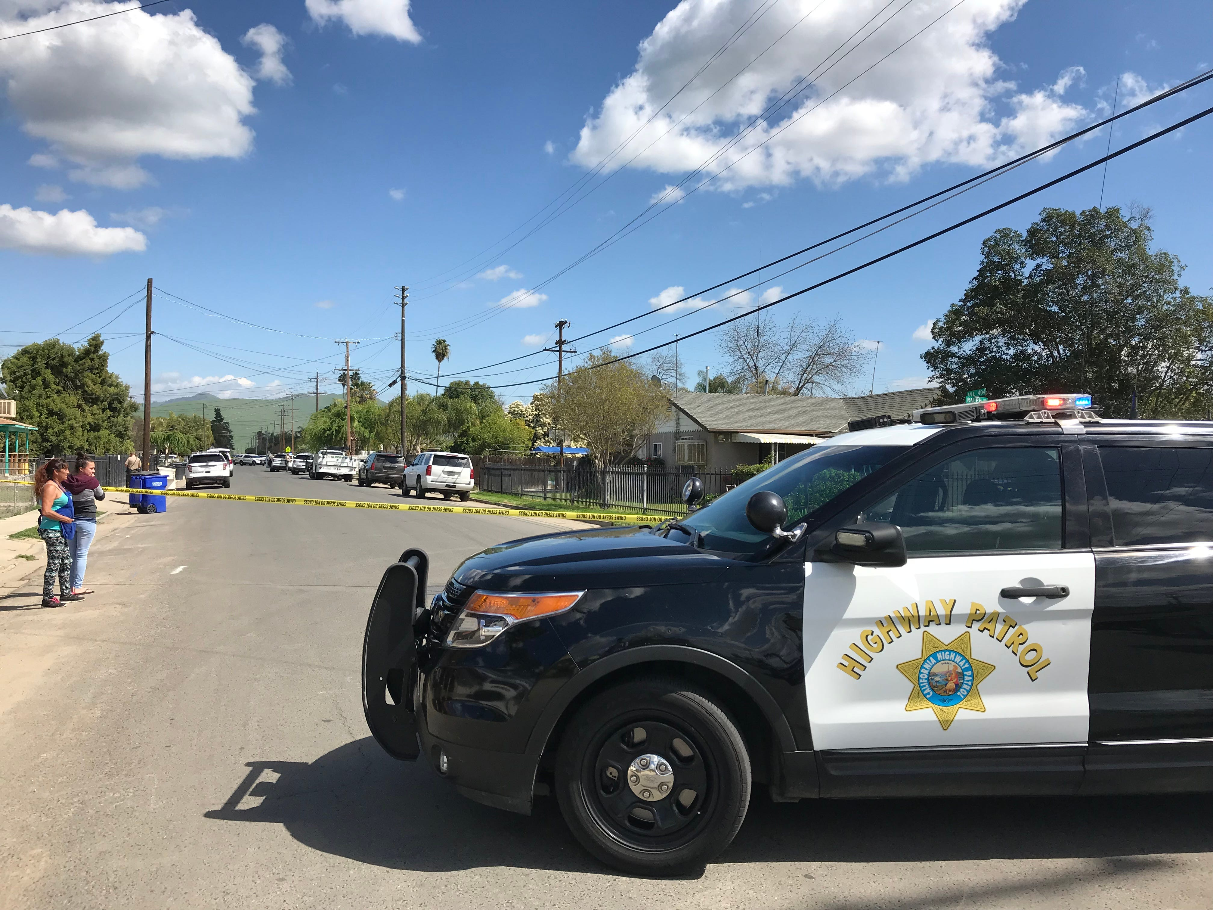 A man barricaded himself inside a Cutler home on Friday, March 29.