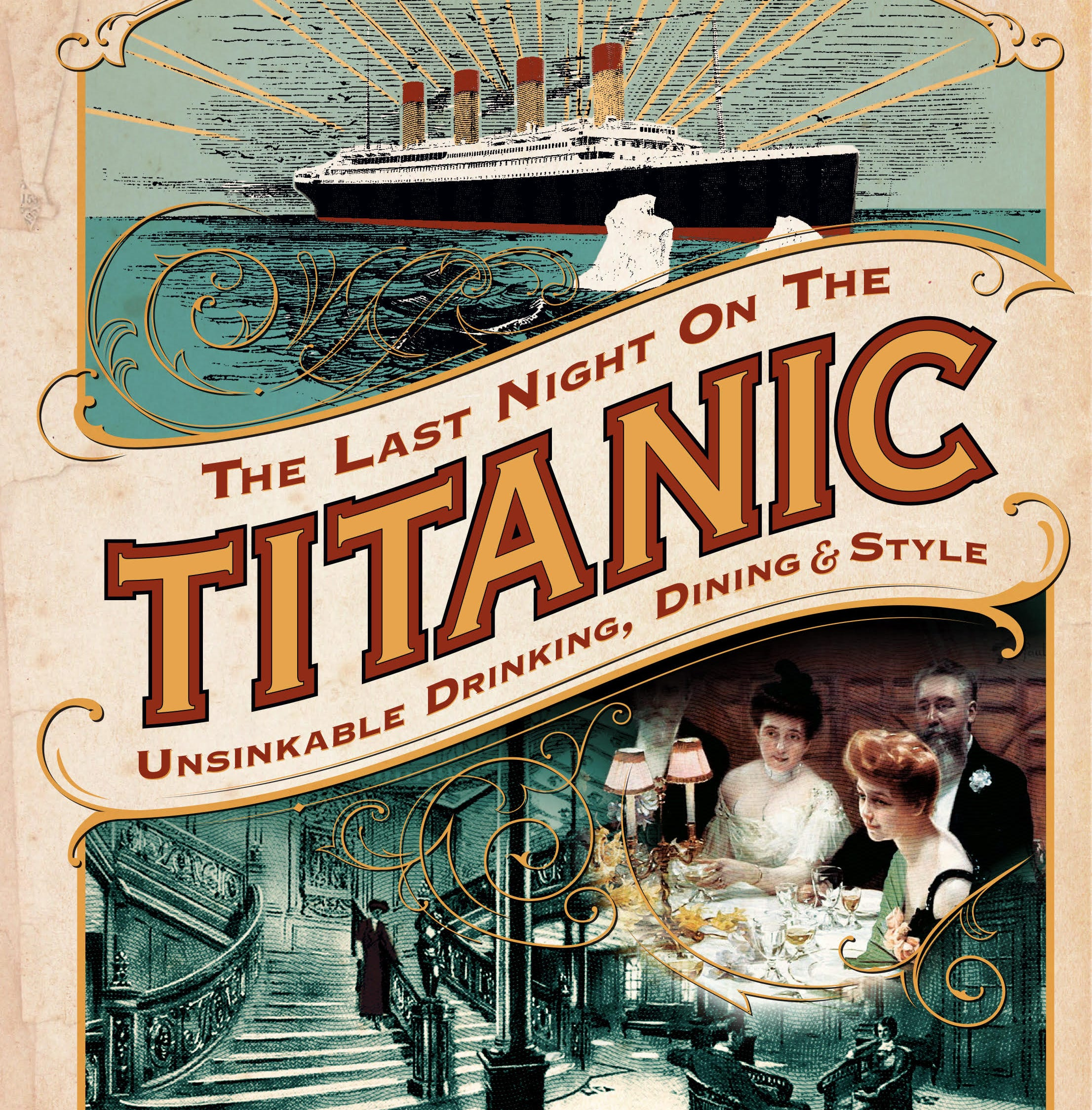 Wausau native's book looks at what Titanic passengers ate and drank before the iceberg hit