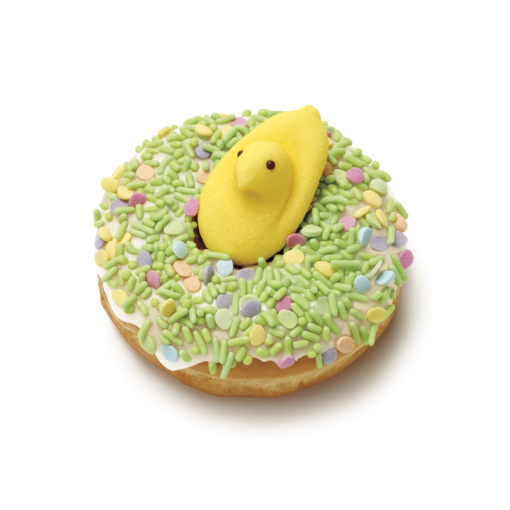 Dunkin' celebrates spring with a Peeps free coffee, doughnut promotion in Hartsdale