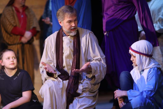 """""""The Rescue"""" passion play depicting the life, death and resurrection of Jesus Christ will be at 7 p.m. April 11 and 13 and 3 p.m. April 14 at the Twin City Opera House in McConnelsville."""