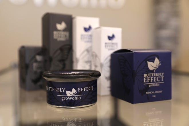 Grow Ohio is now selling its Butterfly Effect THC-infused gummies at Ohio medical marijuana dispensaries.