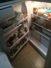 Photo of the refrigerator taken at inspection.