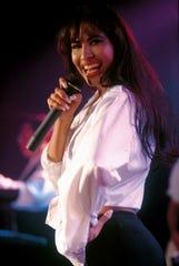 Tejano music artist Selena.